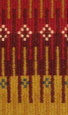 Minnesota weavers guild bound weave show. Krokbragd