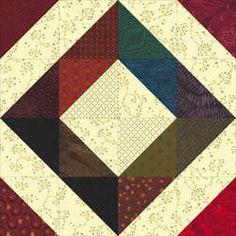 Depression Quilt Block Pattern