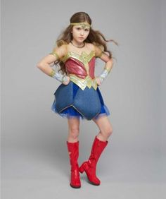 Strength, speed, smarts -- it's no wonder she's the ultimate crime-fighting woman. Ultimate Wonder Woman costume for kids - Dawn of Justice is imported.