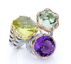 We can't get enough of these #Tacori rings! #lucido #jewelry #accessories #fashion