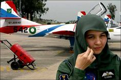 Saira Batool, a girl from Hazara community who has contributed a lot towards the prosperity of Pakistan who created history by being the First Female Pilot of PAF