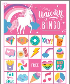 Unicorn Themed Birthday Party, 9th Birthday, 1st Birthday Parties, Birthday Ideas, Unicorn Printables, Pamper Party, Spa Party, Party Fun, Little Pony Party