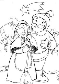 christmas in italy coloring pages - photo#13
