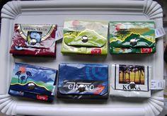 portemonnaies aus alten Kaffetüten!