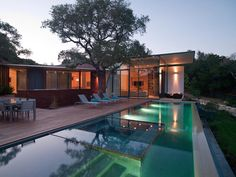 The folks at Bercy Chen Studio LP bring to Austin, Texas the Cascading Creek House; a tour de force of technological marvel all wrapped up in a modern and un-imposing package. The 12,000 square foot size of the home seems to melt away into the hillside, due mostly in part to its low roofline and …