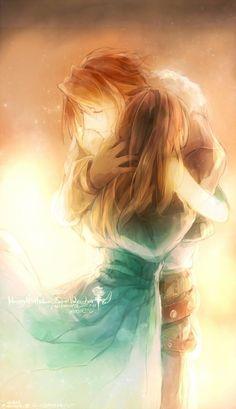 Squall and Rinoa Final Fantasy VIII #FFVIII