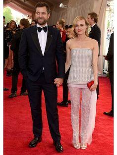 Joshua Jackson & Diane Kruger (in Chanel Couture) | ELLE