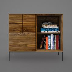 Invisible City's Incunabular Wideboy WB02 in Black American Walnut