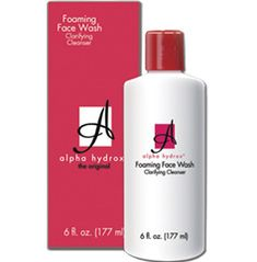 At my age taking good care of my skin is one of the most important things I can do for myself. The Alpha Hydrox foaming face wash came just ...