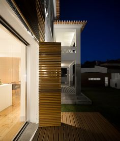 Image 10 of 28 from gallery of Rehabilitation in Cascais / Humberto Conde. Photograph by Fernando Guerra Blinds, Garage Doors, Stairs, Curtains, Gallery, Outdoor Decor, Cascais, Home Decor, Architecture