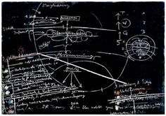blackboard from the office for direct democracy, joseph beuys, 1971