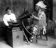One of the first Native American recordings. I wonder if they smoked allot of weed in that session?