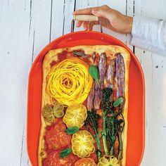 Flower-Power-Pizza : Hippie-Glück