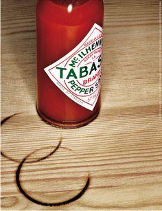 뜨겁다, 맵다, 화끈하다를 단적으로 보여주는 광고