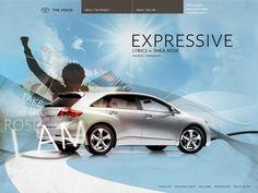 Toyota Venza by Phil Rampulla, via Behance