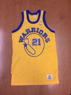 9e2aca024 Vintage 1980 - 1982 World B Free Golden State Warriors Sand Knit Jersey  Size 40 champion jason richardson stephen jackson latrell sprewell