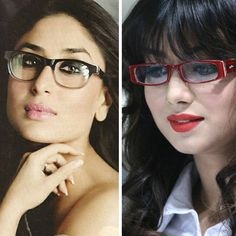 Aren't these bollywood divas looking hot in glasses?   Repin if you agree!