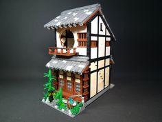 Japanese style (I think?) Lego house.