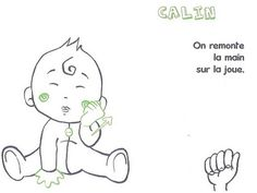 Start using thise easy guidelines to teach your baby some simple sign language skills and finally find out what goo-goo gah-gah really means. Simple Sign Language, Sign Language Phrases, Baby Sign Language, American Sign Language, Learn To Sign, How To Make Signs, Learn Asl Online, French Signs, Early Reading