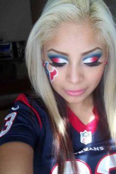 Texan make up!!:)