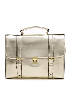 Metallic Holdall Briefcase Bag #Romwe
