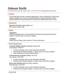 How To Make A Resume In Microsoft Word Cool Free Resume Download Simple Resume 12  Microsoft Word Format .