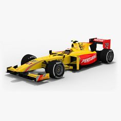 Today we present the last of our #Formula2 #racing cars. It's #Pertamina #Arden team. The team is not very successful in #GP2 series last years, but we hope that our #lowpoly #PBR #3Dmodel of Pertamina car will be in demand. #opticaldreamsoft