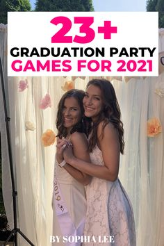we used a few of these graduation party games at my grad party last year and everyone loved them!! super memorable!