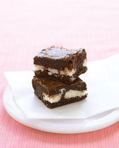 mint-chocolate brownies yes please! martha stewart