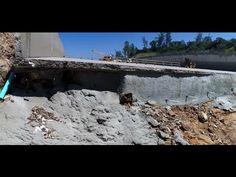 New Drone Video - Shotcrete Video - Lake Oroville Spillway Update  4-5-17
