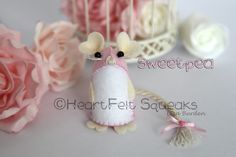 """HeartFelt Hoots - Limited Edition Valentines Collection;  """"Sweetpea"""" Details over at facebook page HeartFelt Hoots."""