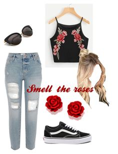"""""""Untitled #3"""" by cinthiaponce-1 on Polyvore featuring Vans"""