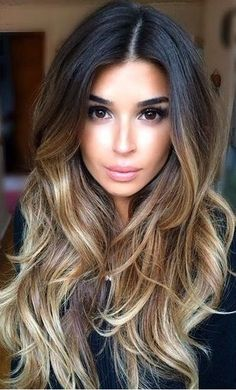 Luscious Balayage With Subtle Purple Tones - 20 Stunning Examples of Mushroom Brown Hair Color - The Trending Hairstyle Balayage Ombré, Brown Balayage, Brown Ombre Hair, Brown Hair Colors, Hair Colours, Long Ombre Hair, Dark To Blonde Ombre, Bayalage Black Hair, Latest Hair Color