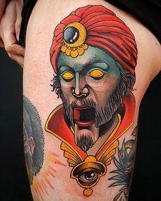 Zoltar tattoo