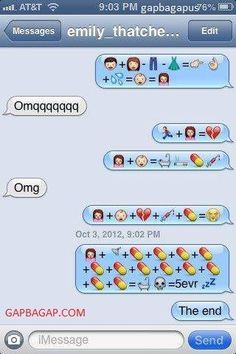 8+ Hilarious Emoji Conversations About Love