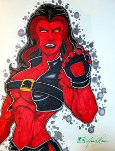 Marvel Red She-Hulk MT