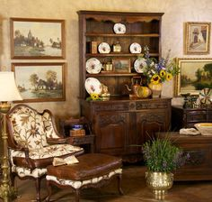 Country French antiques. www.inessa.com #antique #country french #furniture