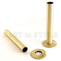 Radiator Pipe Sleeve Cover - Brass - Radiator Pipe Sleeve Cover