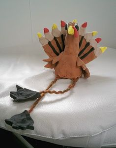 This turkey is thankful to not be on the menu this Thanksgiving.