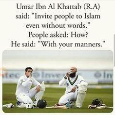 Invite to Islam with your manners. Islam Hadith, Islam Quran, Alhamdulillah, Islamic Teachings, Islamic Quotes, Islam Online, Arabic Memes, Islamic World, God Loves Me