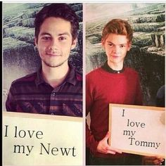 Image uploaded by Daydream. Find images and videos about dylan o'brien, the maze runner and thomas on We Heart It - the app to get lost in what you love. Maze Runner Thomas, Newt Maze Runner, Maze Runner Funny, Maze Runner Trilogy, Maze Runner Series, James Dashner, Thomas Brodie Sangster, Bae, Dylan O'brien