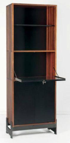 Jules Wabbes (1919 - 1974) - secrétaire in exotic wood