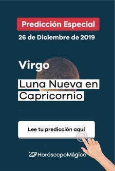 Descubre cómo afectará a tu signo la llegada de la Luna Nueva en Capricornio del próximo 26 de Diciembre #lunanueva #capricornio #2019 #horoscopomagico