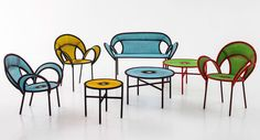 Moroso's Banjooli Collection, an extension on the Italian design brand's colorful chair design
