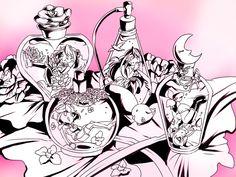 Yuzu, Rin, Ruri and Serena
