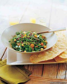 Shell Bean Salad