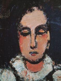 "yunnbou231: "" 足立区綾瀬美術館 Pierrot(1925) Georges Rouault """