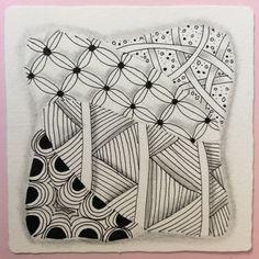 Zentangle by Nancy Domnauer, CZT or linedotcalm.com