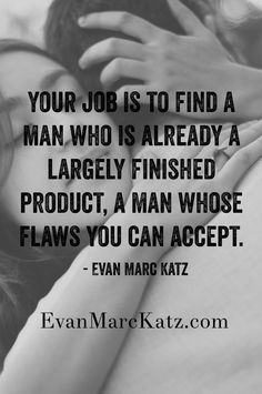 Dating advice evan marc katz