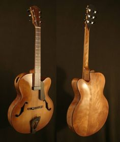 Gregory Paul German's guitars are very cool!